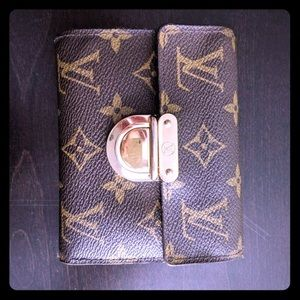 Real Louis Vuitton Compact Wallet